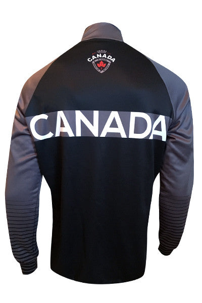 Team Canada Training Jacket - grey back