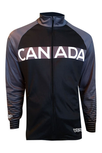 Team Canada Training Jacket - grey front