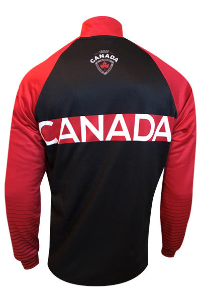 Team Canada Training Jacket - red back