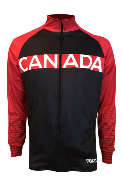 Team Canada Training Jacket - red front