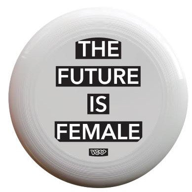 Ultimate Frisbee Disc Discraft FutureIsFemale