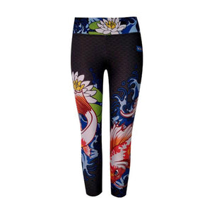 Koi 3/4 Length Crop Tights