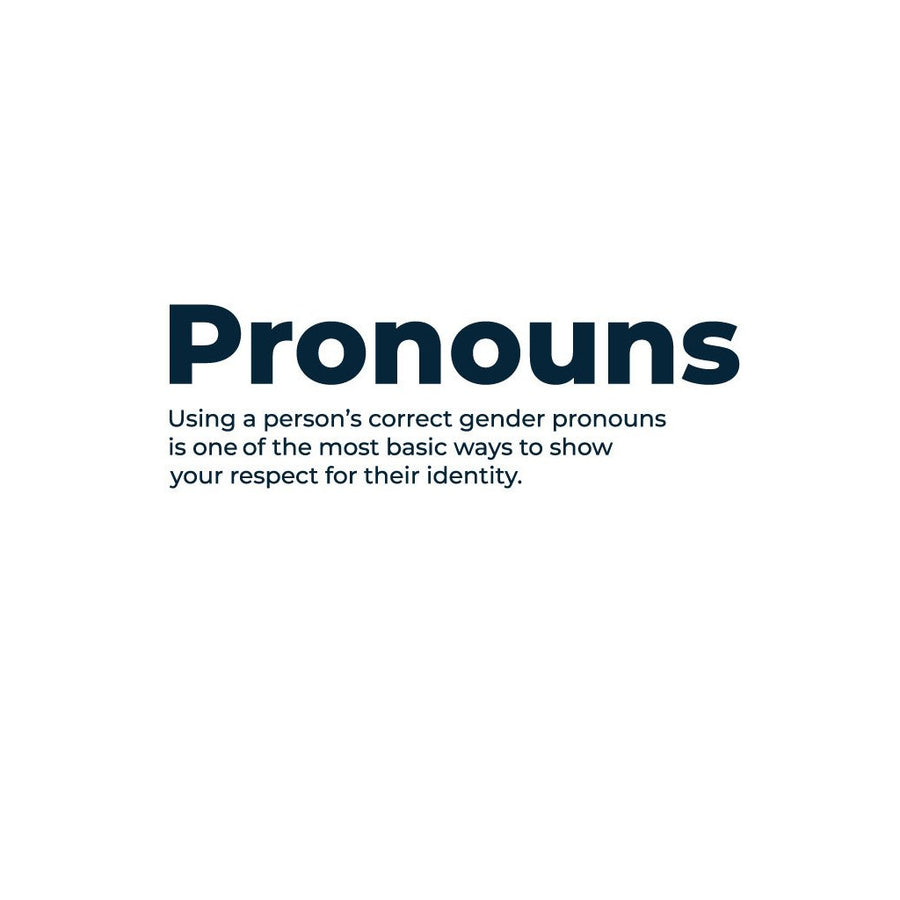 Pronouns Crewneck