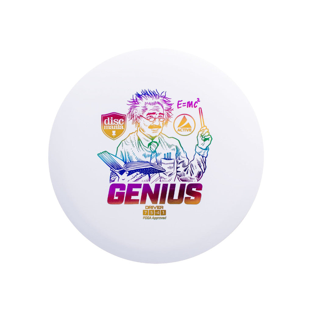 Discmania VCDG Disc Golf Active Genius Driver White - VC Ultimate
