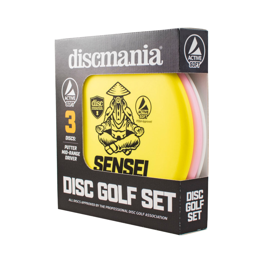 VCDG Disc Golf Active Soft 3 Pack - discmania
