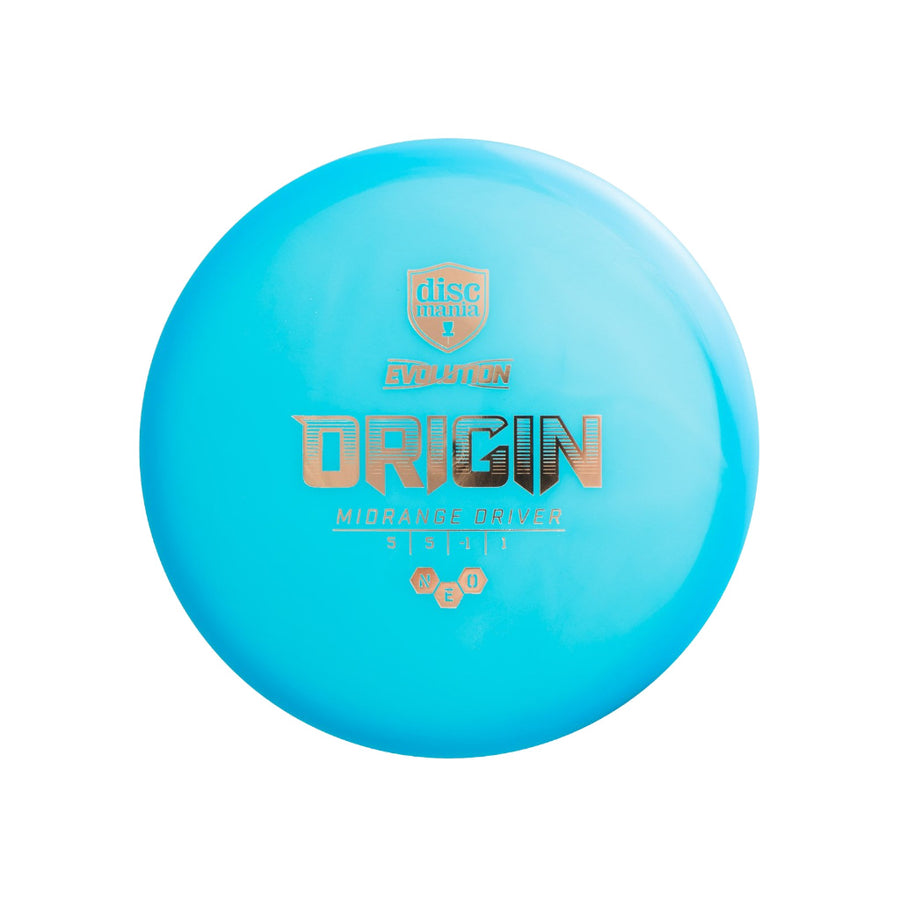 Discmania VCDG Disc Golf Neo Origin Midrange Yellow VC Ultimate