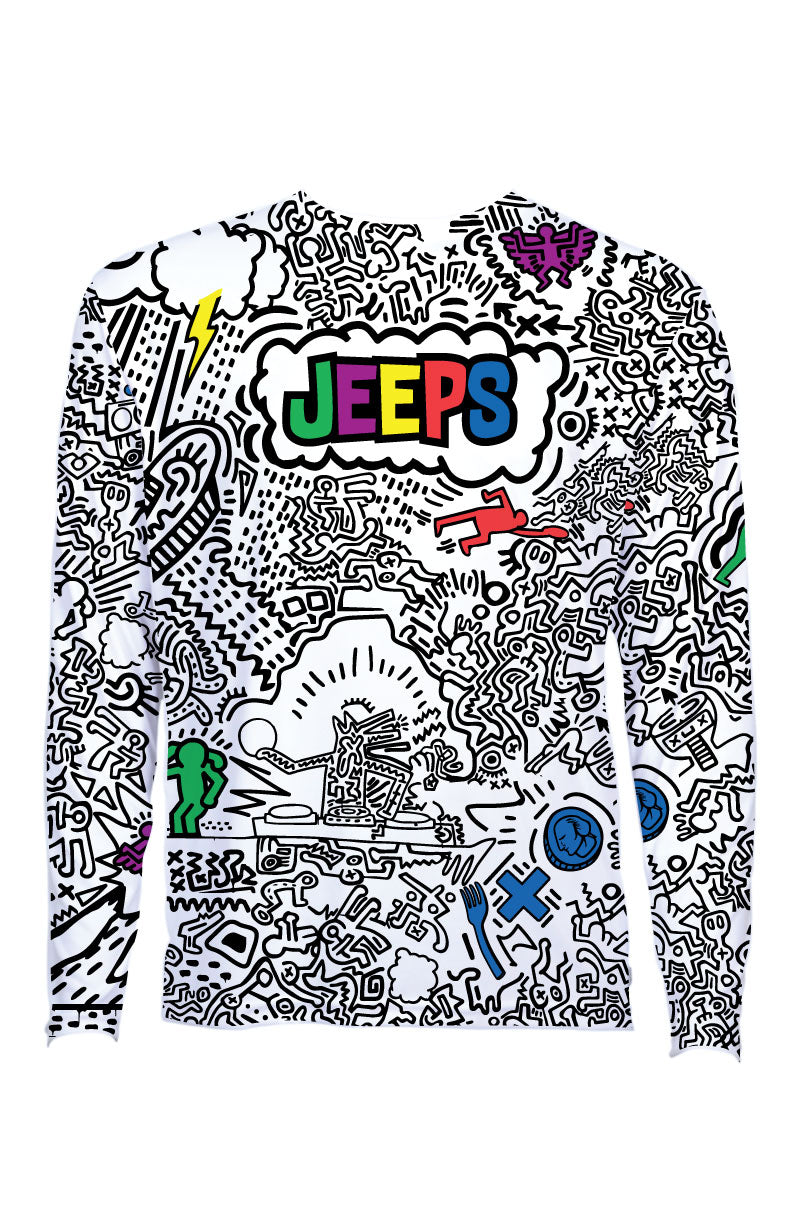 All Jeeps, All Night Long Sleeve Jersey