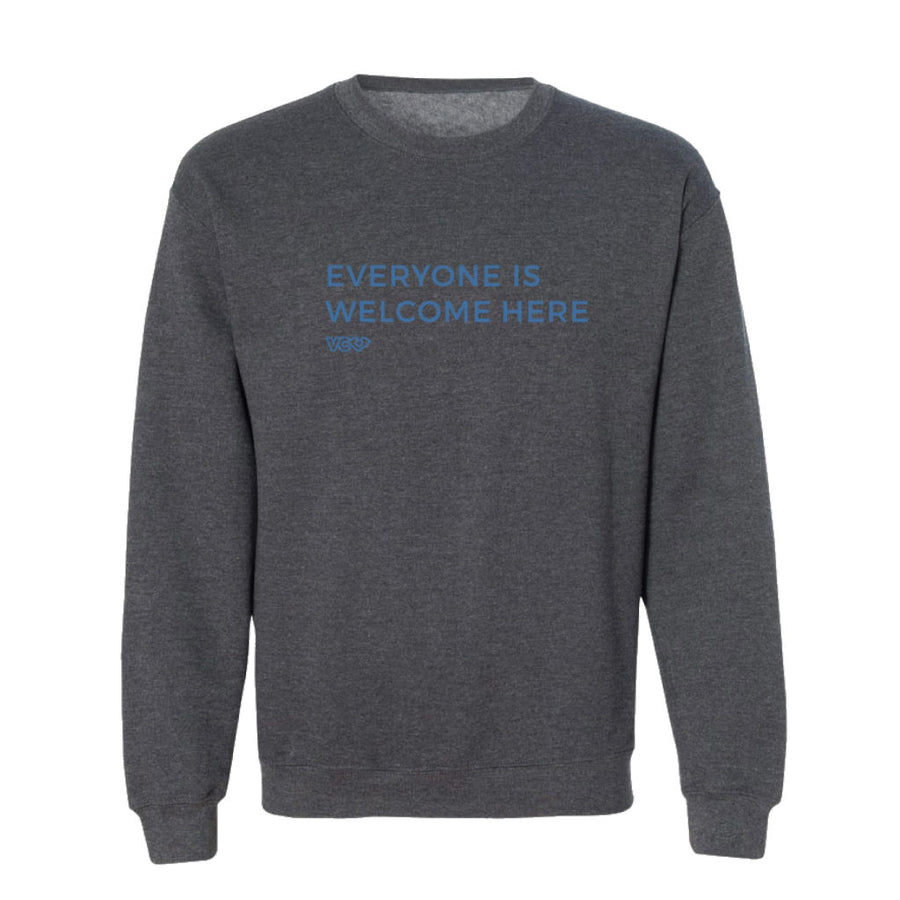 Everyone is Welcome Here Crewneck
