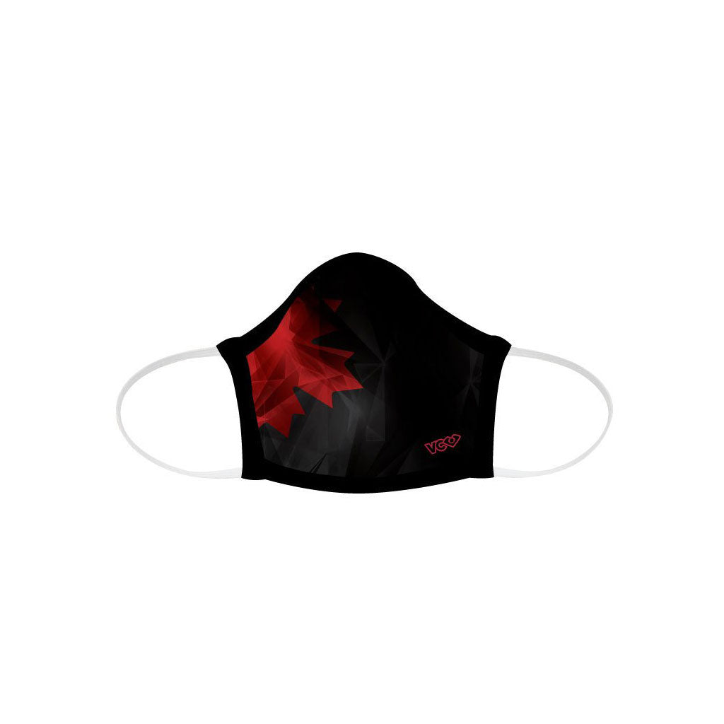 Geo Maple Leaf Face Mask - VC Ultimate
