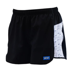 Hannah Leathers Shorty Shorts with Pockets