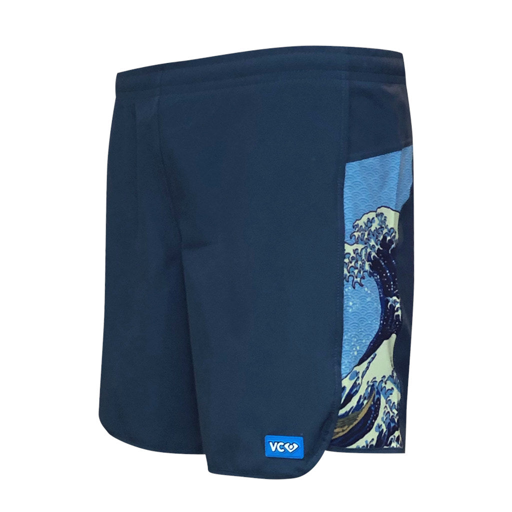 Hokusai Wave Shorty Shorts