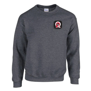 Indy Red Patch Crewneck