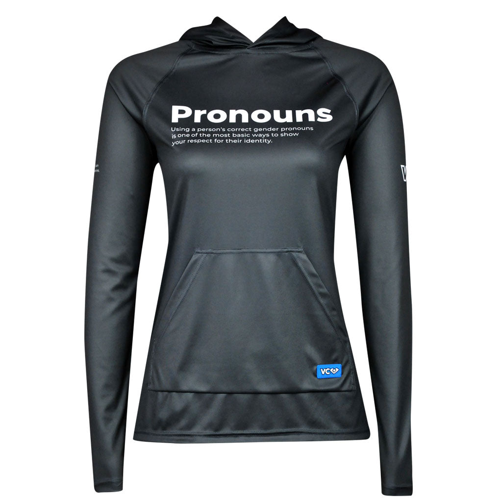 Non-Binary Pronouns Pride Revolution Hoodie - VC Ultimate