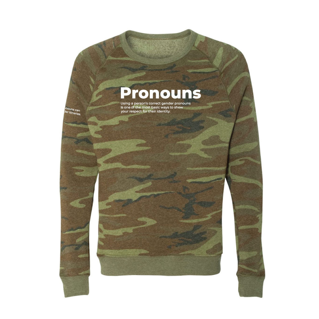 Pronouns Eco Crewneck