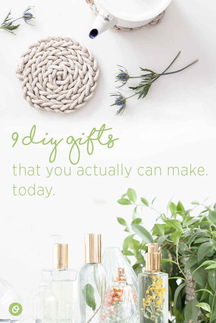 9 DIY gifts that you can actually make yourself