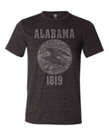 Alabama State Seal Triblend Unisex T-Shirt