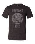 Arizona State Seal Triblend Unisex T-Shirt