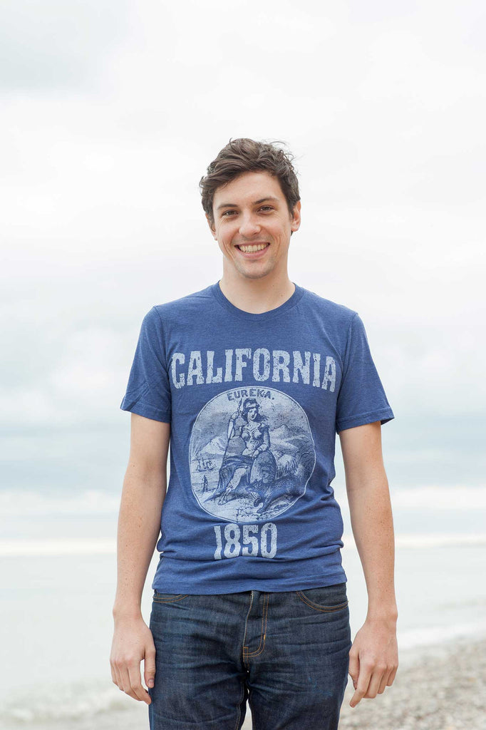 California State Seal Triblend Unisex T-Shirt