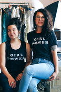 Girl Power Black Unisex T-shirt