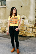Milwaukee Stack Triblend Unisex T-Shirt - Yellow