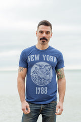 New York State Seal Triblend Unisex T-shirt