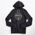 Up North Cabin Triblend Black Unisex Hoodie