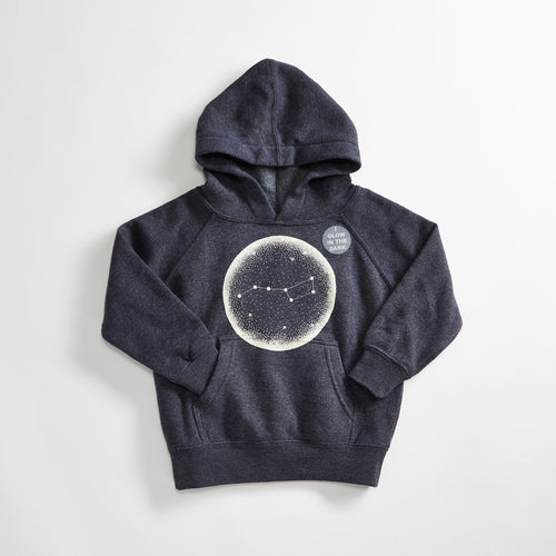 Little Dipper Triblend Navy Toddler & Youth Hoodie