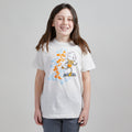 Skater Ice Cream Cone Unisex Kids T-Shirt. Natural Heather Youth tee. Shirt for Boys and Girls