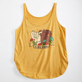 Girl Gang Ladies Tank Top. Gold Womens Girl Power tank. Celebrates Women. Made in USA.