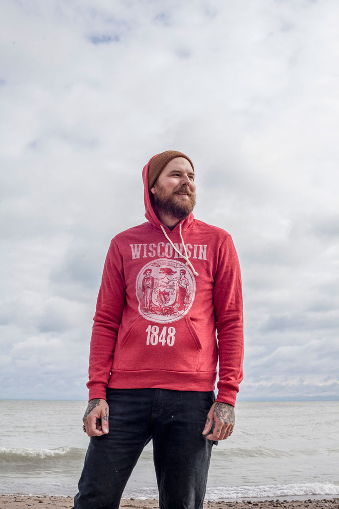 Wisconsin State Seal Hoodie