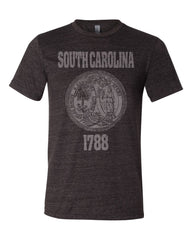 South Carolina State Seal Triblend Unisex T-Shirt