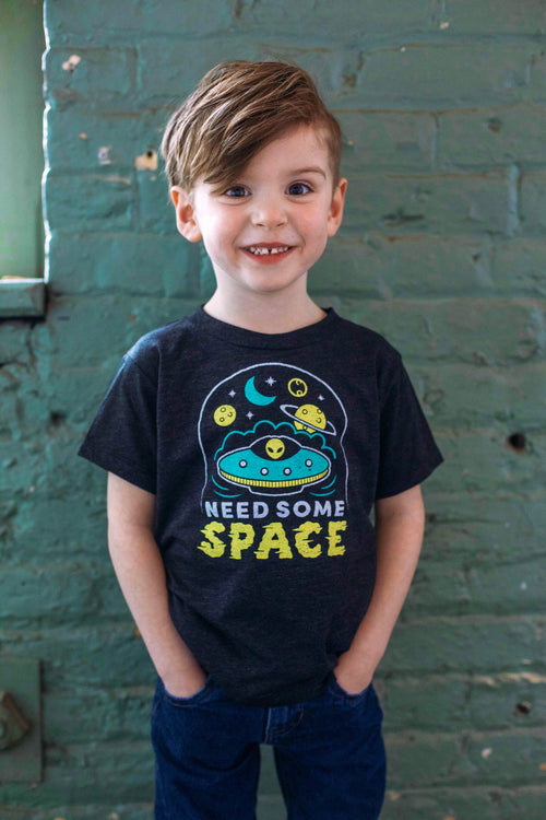 Need Some Space Triblend Black Toddler T-shirt
