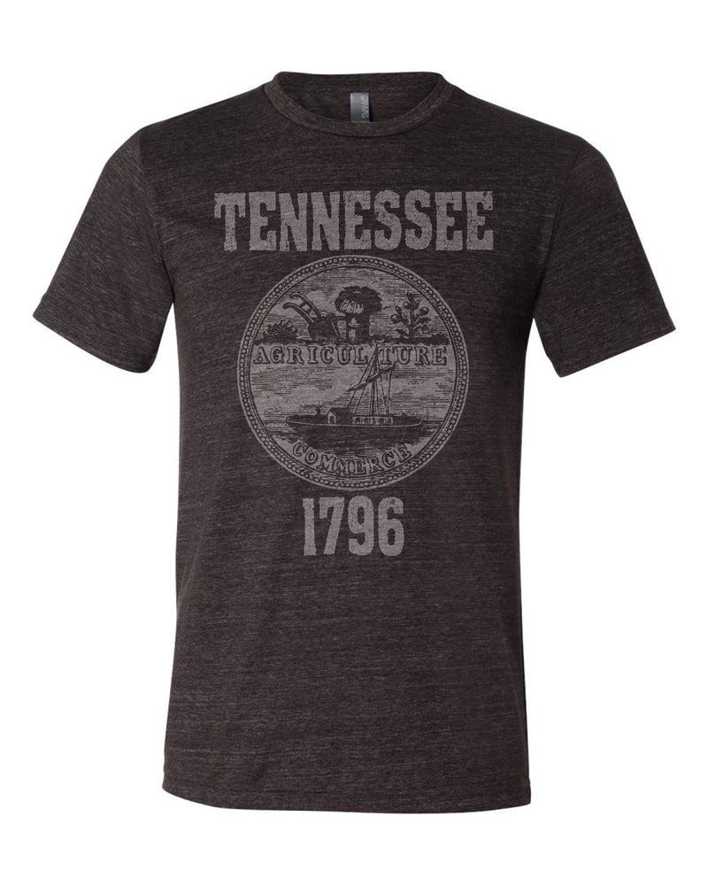 Tennessee State Seal Triblend Unisex T-Shirt