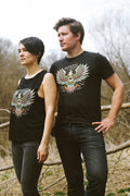 Milwaukee Eagle Eye Vintage Black Unisex T-shirt