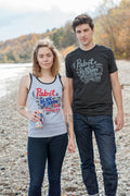 Limited Edition Pabst Blue Ribbon Triblend Black Unisex T-shirt