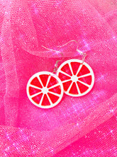 Load image into Gallery viewer, Glitter Citrus Earrings