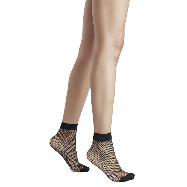 Penti Classic Fashion Ankle High Fishnet - fashiontight.uk