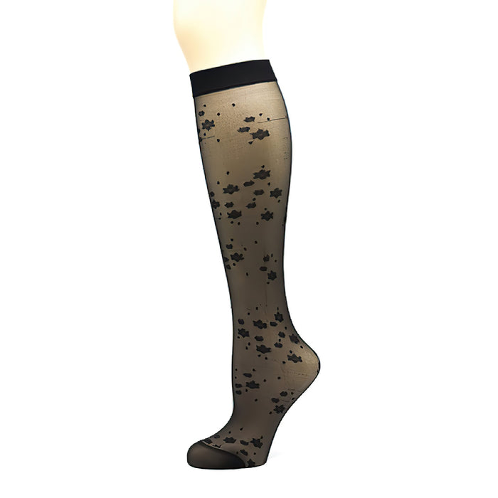 Penti Flowery Ankle Highs Sock - fashiontight.uk