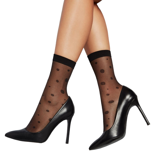 Penti Dotted Ankle Highs Sock.