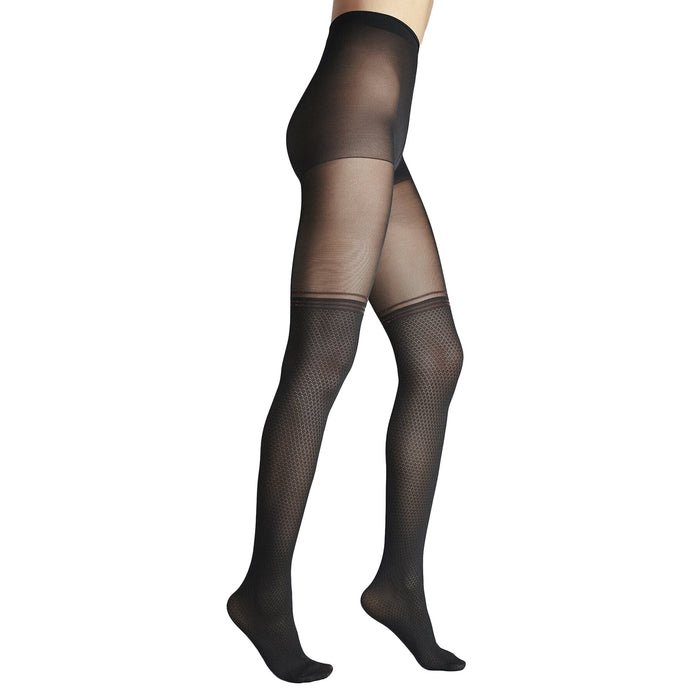 Penti Red Stripe Fashion Tights - fashiontight.uk