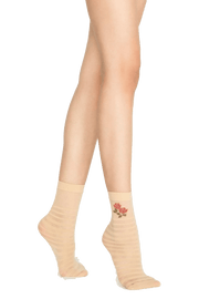 Penti Stripe Rose Fashion Ankle - fashiontight.uk