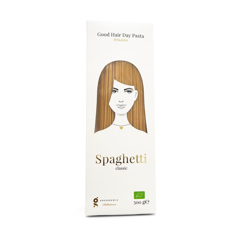 Greenomic Good Hair Pasta - Spaghetti classic - 500g