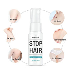 Load image into Gallery viewer, 100% Natural Permanent Hair Removal Spray