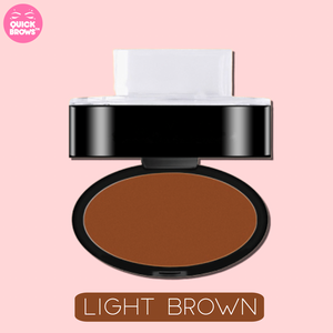 QUICK BROWS™ Natural Brows Stamp Powder