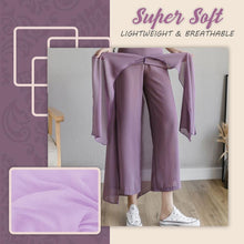 Load image into Gallery viewer, Ice Silk Chiffon Wide-Leg Pants