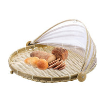 Load image into Gallery viewer, Hand-Woven Food Serving Basket