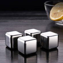 Load image into Gallery viewer, 2020 UPDATE - Stainless Steel Ice Cubes