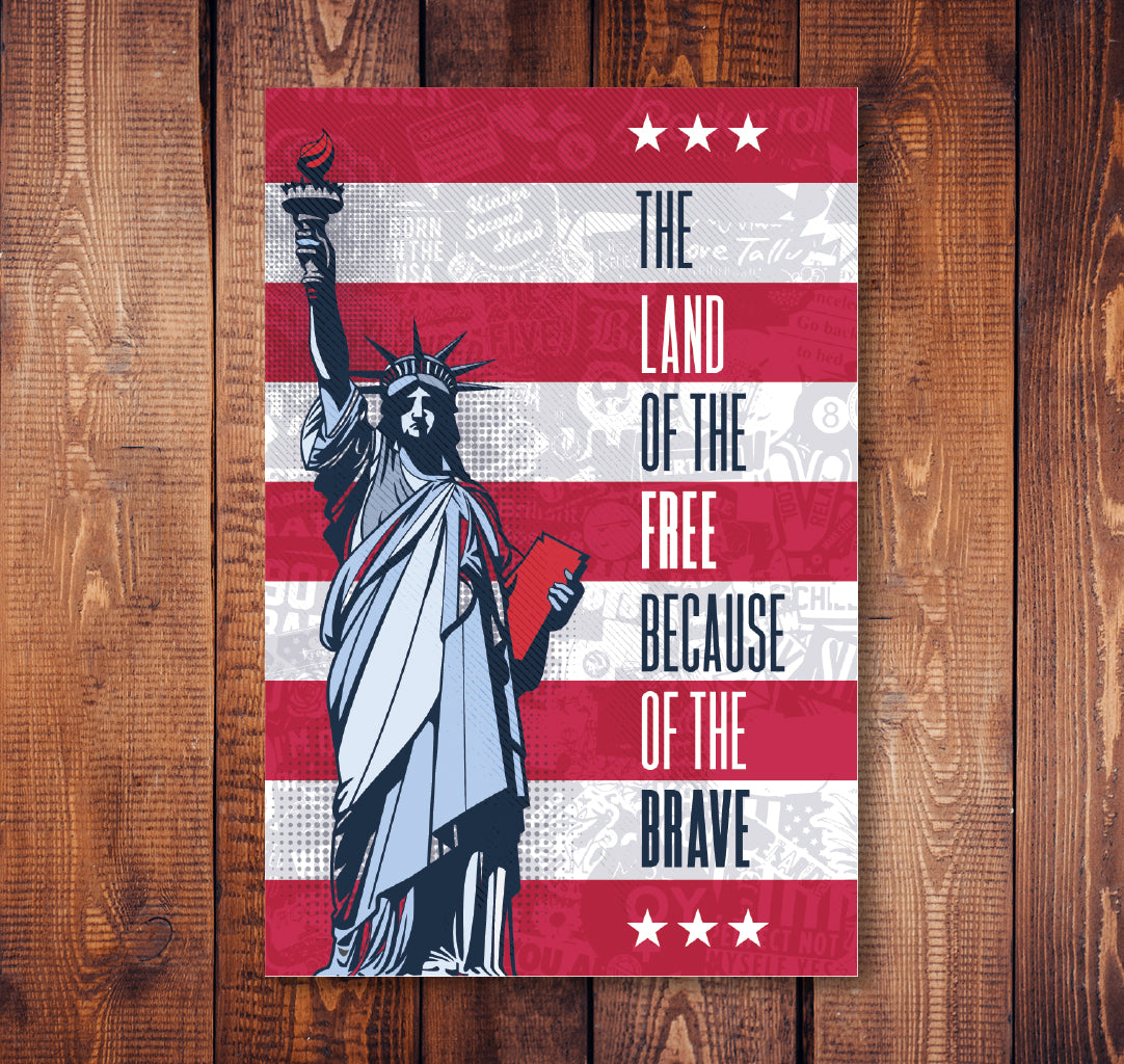 Brave Liberty Sticker