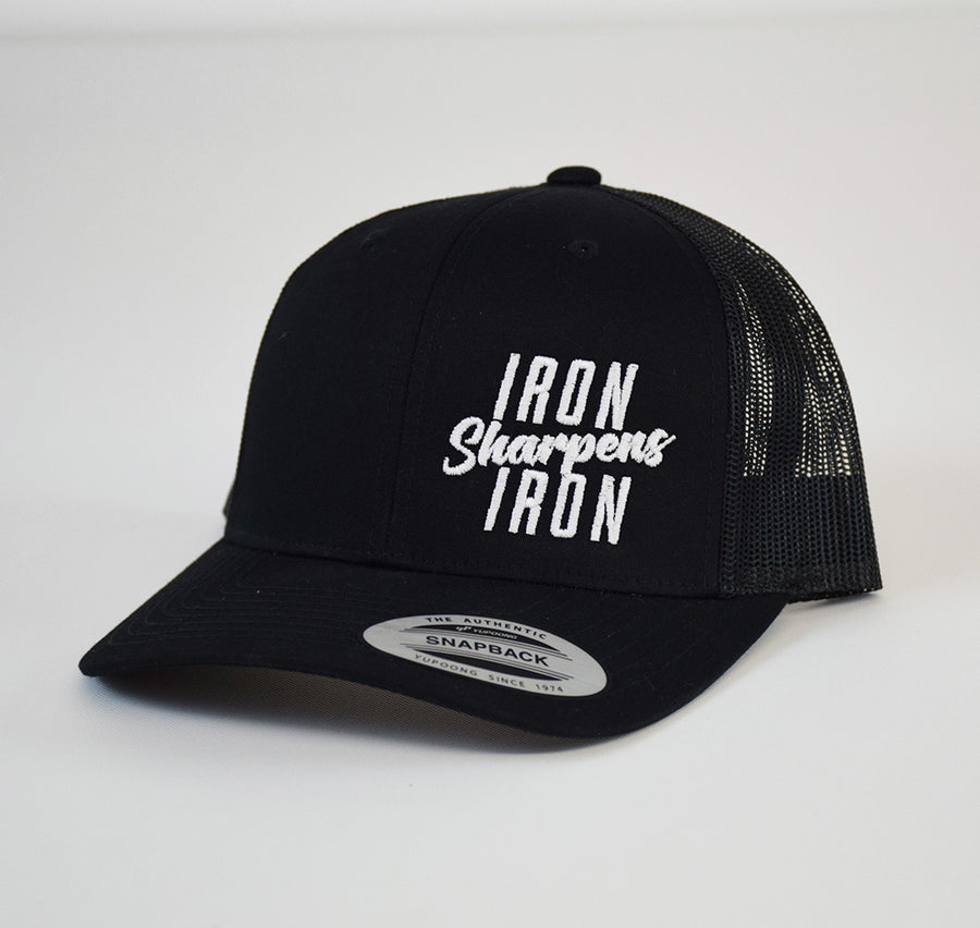 Iron Sharpens Embroidered Snap-Back