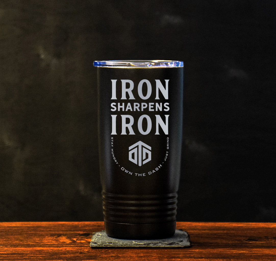Iron Sharpens Iron Tumbler